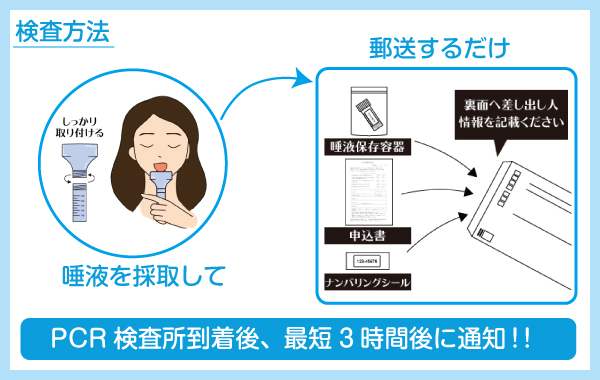 PCR検索の流れ